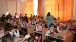 На уроке  молодого педагога Дарьи Александровны Тороповой