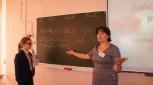 На уроке химии Ольги Геннадьевны Шкаредной