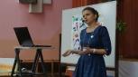 О.Н.Селезнёва отвечает на вопросы жюри