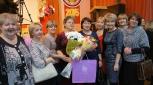 Дружная команда лицея с победителем конкурса