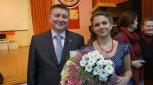 Фото с победительницей